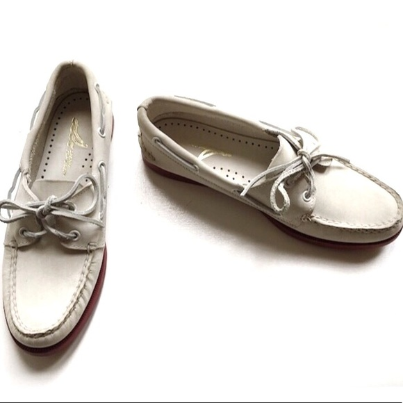 Sperry Top Siders White Suede Laceup
